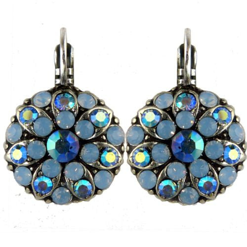 Mariana Handmade Swarovski Crystal Earrings 1029 1343 Crystal Meridian Blue Opal - ILoveThatGift