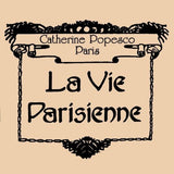 La Vie Parisienne Popesco Swarovski Silver Stud Earrings Chrome LIMITED EDITION - ILoveThatGift