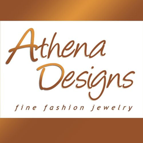 Leather Bracelet Small Gold Pl Screw Hardware Athena Designs - ILoveThatGift