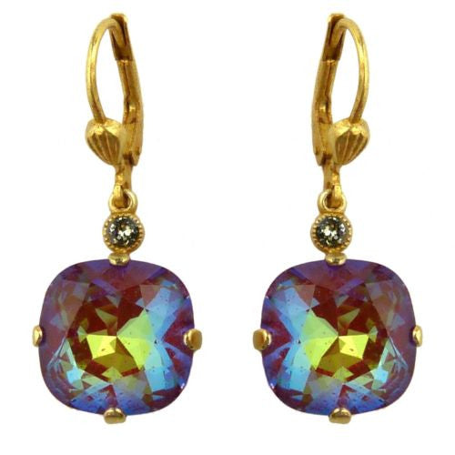 La Vie Parisienne Gold Blue Ruby Earrings 6544G Catherine Popesco - ILoveThatGift