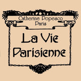 La Vie Parisienne Earrings Swarovski Crystal Popesco Provence Lavender LIMITED E - ILoveThatGift