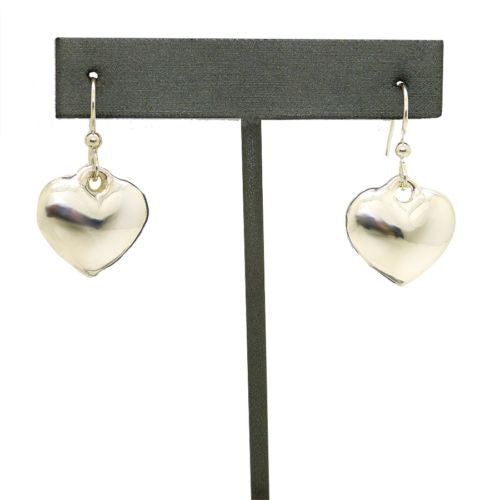 Simon Sebbag 925 Sterling Silver Heart Earrings E218 - ILoveThatGift