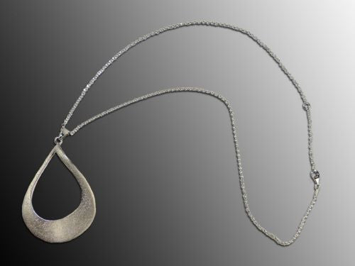 Charles Garnier Barbara Sterling Silver Twisted Oval Necklace - ILoveThatGift