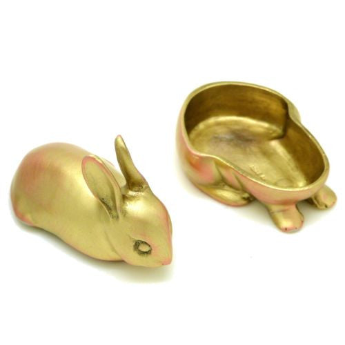 Michael Michaud Rabbit Hare Trinket Jewelry Box from Silver Seasons Table Arts - ILoveThatGift