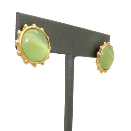 Uptown Girls Cream Gold Teardop Earrings 0318020G Mallory - ILoveThatGift