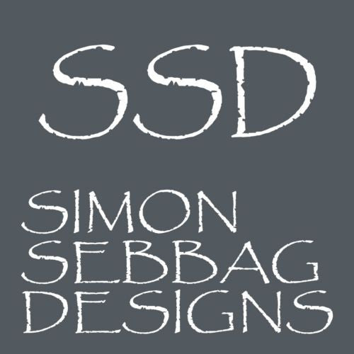 Simon Sebbag Sterling Silver Hammered Pierced Hoop Earrings E2901 - ILoveThatGift