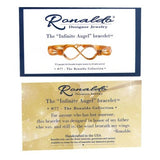 Ronaldo Infinite Angel 1932 Bracelet Two Toned 14K Gold & Silver Artist's Wire w - ILoveThatGift