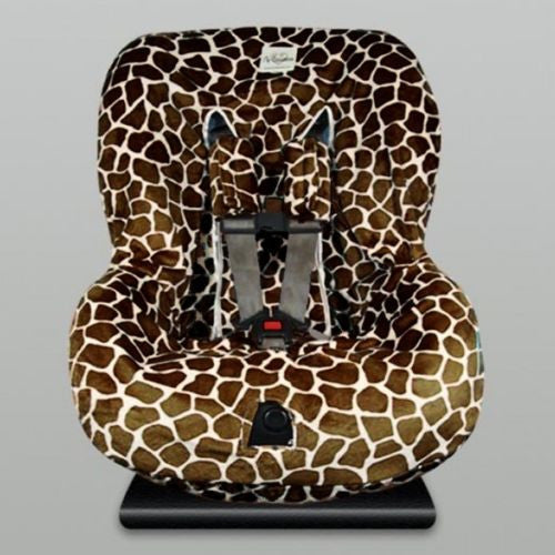 My Blankee Toddler Car Seat Cover Brown Giraffe - ILoveThatGift