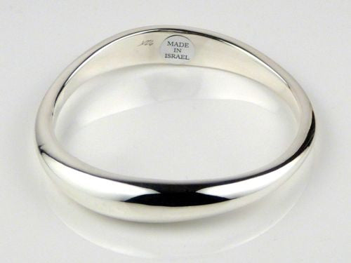 Simon Sebbag Organic Wave Sterling Silver 925 Bangle Bracelet B1069 - ILoveThatGift