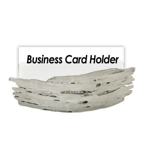 Michael Michaud Birch Bark Business Card Holder from Silver Seasons Table Arts - ILoveThatGift