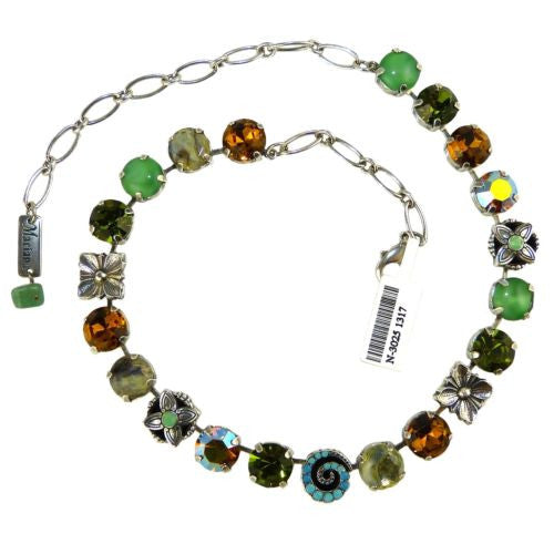 Mariana Necklace N3025 1317 Green Blue Topaz - ILoveThatGift