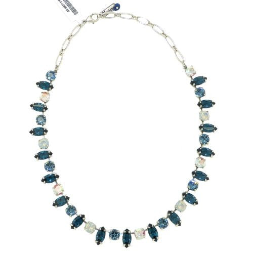 Mariana Handmade Swarovski Necklace 3143/1 1069 Mood Indigo Blue - ILoveThatGift