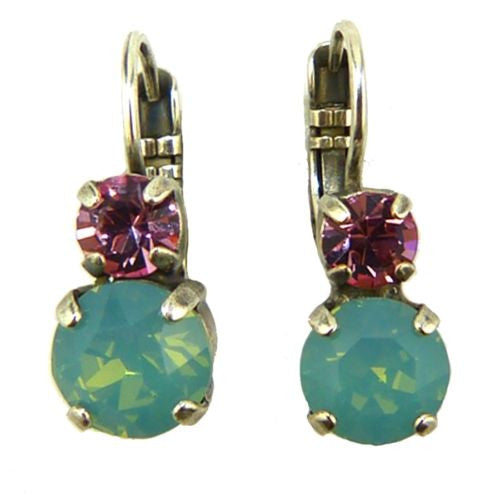 Mariana Handmade Swarovski Crystal Earrings 1190 806 Light Pink Opal - ILoveThatGift
