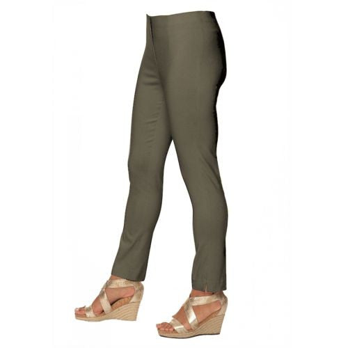 Lior Paris Bronze Tapered Leg Stretch Pull On Sasha Pants Size 2-16 - ILoveThatGift
