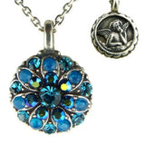 NEW COLOR Mariana Guardian Angel Crystal Pendant Necklace 3322 Blue Zircon Merid - ILoveThatGift