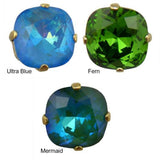 NEW La Vie Parisienne Catherine Popesco Swarovski Gold Stud Earrings - ILoveThatGift