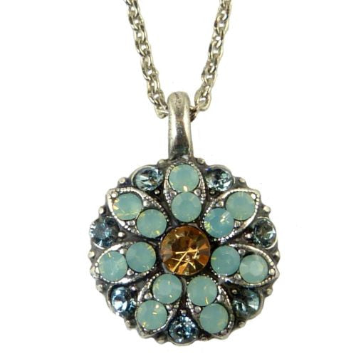 Mariana Guardian Angel Crystal Pendant Necklace 812 Citrine Opal - ILoveThatGift