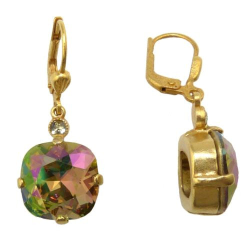 La Vie Parisienne Earrings Swarovski Crystal Popesco 6556G Purple Haze - ILoveThatGift