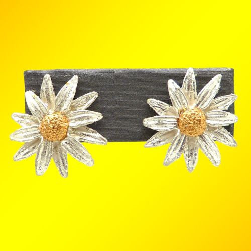 Daisy Post Earrings by Michael Michaud 4583 O'Keeffe - ILoveThatGift