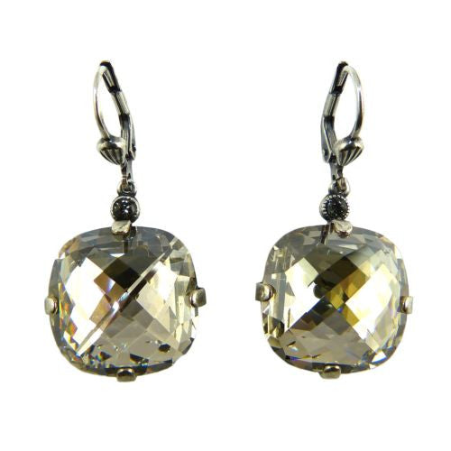 La Vie Parisienne Earrings Swarovski Crystal Popesco 6575S Shade Extra Large - ILoveThatGift