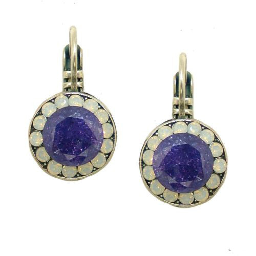 Mariana Handmade Swarovski Crystal Earrings 1129 1062 Purple Rain Amethyst Violet - ILoveThatGift