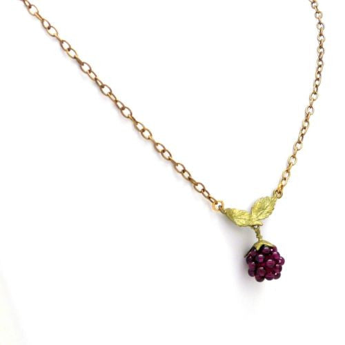 Raspberry Garnet Pendant Necklace by Michael Michaud 7535 - ILoveThatGift