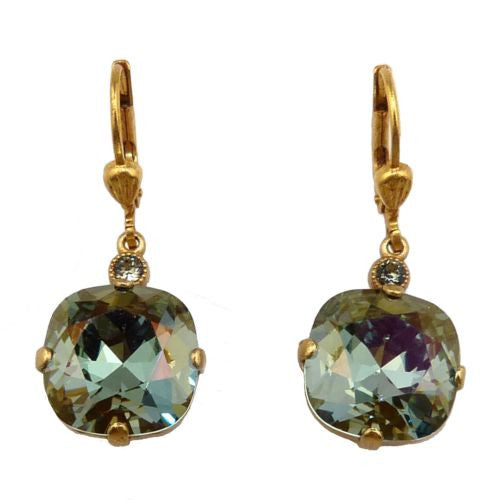 La Vie Parisienne Earrings Swarovski Crystal Popesco 6556G Stormy - ILoveThatGift