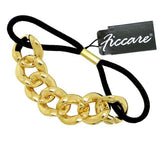 Ficcare Chunky Chain Resin Pony Holder Silver or Gold - ILoveThatGift