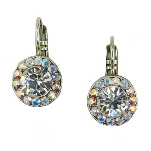 Mariana Handmade Swarovski Crystal Earrings 1129 001 Clear AB Rainbow - ILoveThatGift