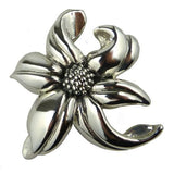 Simon Sebbag Sterling Silver Orchid Pin or Pendant - ILoveThatGift