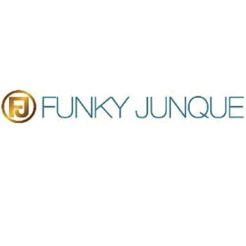 Clear Crystal Spike Hematite Necklace  by Funky Junque - ILoveThatGift