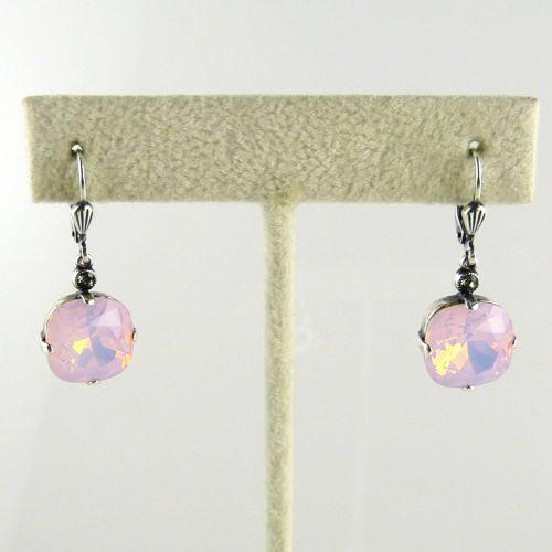 La Vie Parisienne Earrings Swarovski Crystal Popesco 6556S Rosewater - ILoveThatGift
