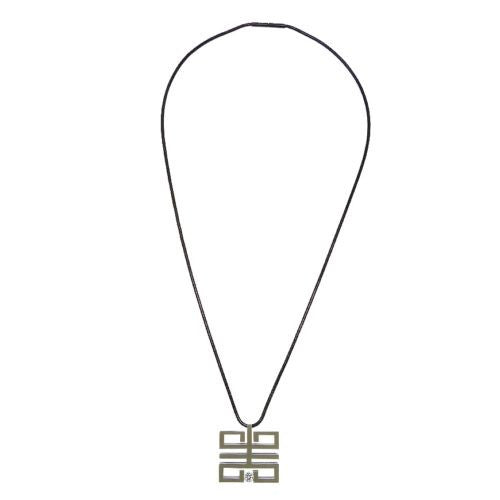 B.Tiff Felico Pendant Surgical Stainless Steel Tension Set 0.30ct CZ Cut Round - ILoveThatGift