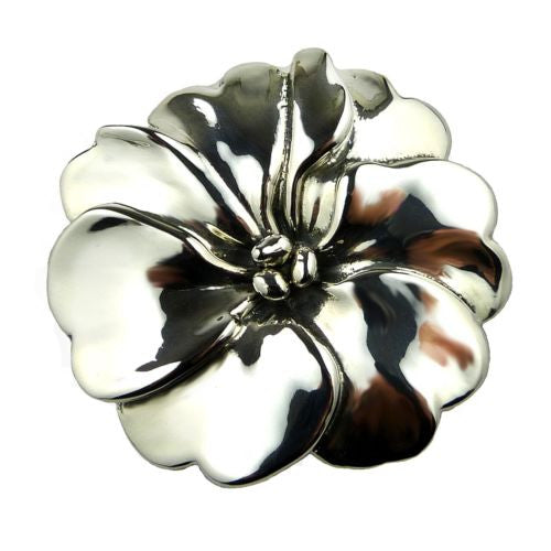 Simon Sebbag Sterling Silver Pansy Flower Pin or Pendant SP1153 - ILoveThatGift