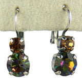 Mariana Handmade Swarovski Crystal Earrings 1190 3201 Volcano Topaz - ILoveThatGift