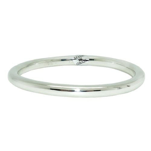 Simon Sebbag Sterling Silver 925 Smooth Thin Bangle Bracelet B1334 - ILoveThatGift