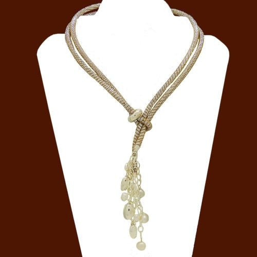 Simon Sebbag Sterling Silver Bead Pearl Suede Leather Necklace Lariat Wear 2 Way - ILoveThatGift