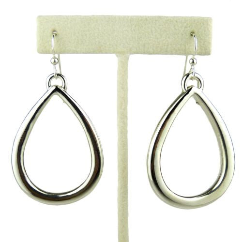 Simon Sebbag Sterling Silver Large Open Teardrop Earrings E2717 - ILoveThatGift