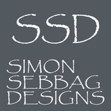 Simon Sebbag Sterling Silver Rectangle Diagonal Ribbon Clip Earrings E2873 - ILoveThatGift