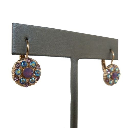 Mariana Handmade Swarovski Crystal Earrings Rose Gold 1401 1312 Rose Water Opal - ILoveThatGift