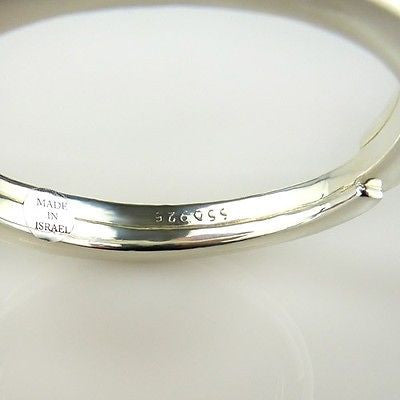 Simon Sebbag Swirl Sterling Silver 925 Bracelet B1304 SS Bangle - ILoveThatGift