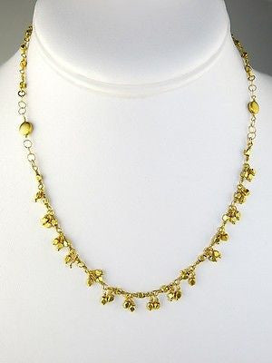 14K Gold Filled Cluster Necklace by Athena Designs - ILoveThatGift