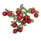 Cranberry Brooch Pin  by Michael Michaud Nature Silver Seasons  5669 - ILoveThatGift