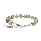 Dorata Handmade Pink Mother or Pearl Patina Bracelet wear with Mariana - ILoveThatGift