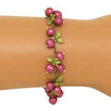 Cranberry Bracelet  by Michael Michaud Nature Silver Seasons 7105 - ILoveThatGift