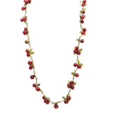 Cranberry Necklace by Michael Michaud Nature Silver Seasons 7784 - ILoveThatGift