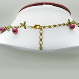 Cranberry Necklace by Michael Michaud Nature Silver Seasons 7785 - ILoveThatGift