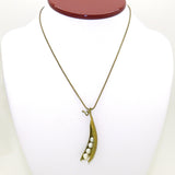 Peas in a Pod Green Michael Michaud Necklace Four 7839