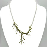 "Rosemary Necklace on Pearls 18"" by Michael Michaud 8326"