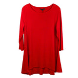 Alisha D Scoop Neck Tunic Red Jersey Knit Small - ILoveThatGift